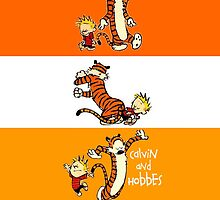 Calvin and Hobbes by casecute