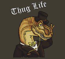 Thug Life Dinosaur by squidyes