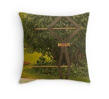 Pot Head Engineer Throw Pillow