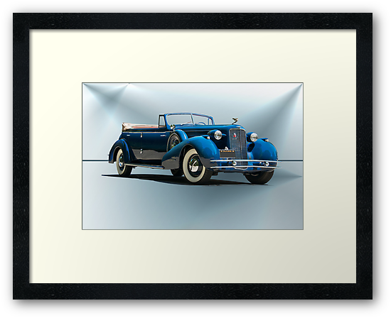 1934 Cadillac Convertible Sedan II by DaveKoontz