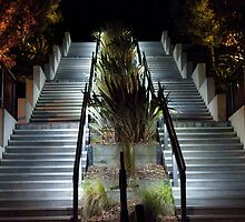 Four Flights Night Stairs by phil decocco