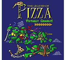 The Legend of Pizza! Photographic Print