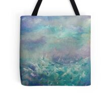 Stormy Reflections Tote Bag