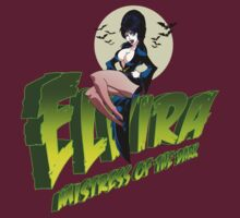 Elvira Mistress of the Dark (Green) by Ronin-ink