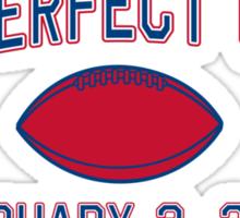 The Perfect Upset Sticker