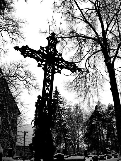 Dark Cross by Alan Hogan