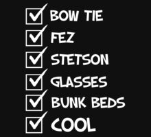 Cool Whovian Checklist - white text by slitheenplanet