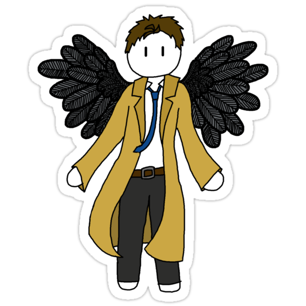 Chibi Castiel Sticker by LeaGerard