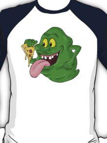 Slimer eating pizza T-Shirt