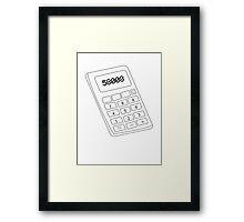 58008 Framed Print