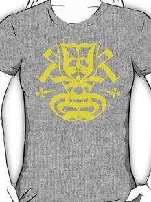 Typo Samurai - Yellow T-Shirt