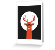 OHH DEER Greeting Card