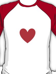 I Heart Yaoi Shirt (WHITE) T-Shirt
