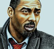 Idris Elba plays Luther by Margaret Sanderson
