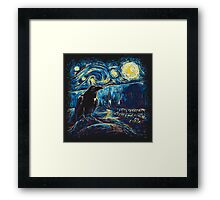 Starry Night's Watch Framed Print