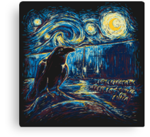 Starry Night's Watch Canvas Print