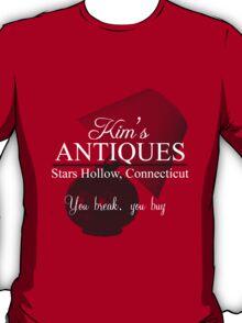 Kim's Antiques, you break you buy T-Shirt