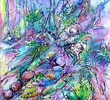 Purple Rainforest by Cathy Gilday