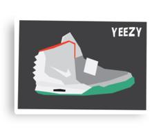Nike Yeezy Canvas Print