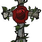 Rose Cross by Scott Dovey