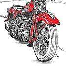 Harley red by bulldawgdude
