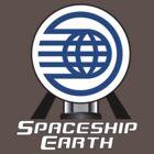 Spaceship Earth Tee by idcommunity