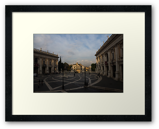 Michelangelo's Wonderful Square - Piazza del Campidoglio, Rome by Georgia Mizuleva