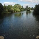 Thames panorama view, Reading by elsie