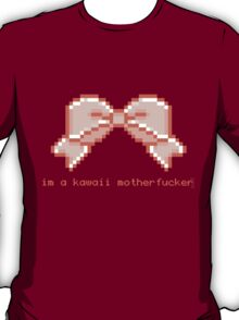 Kawaii motherfucker t-shirt PINK T-Shirt