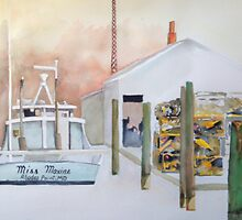 Miss Maxine of Rhodes Point, Smith Island by Phyllis Dixon