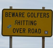 Terrible Golfers :) by Penny Smith