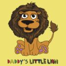 Daddy's Little lion by aaronnaps