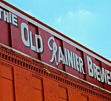 Rainier Brewery Facade by Sue Morgan