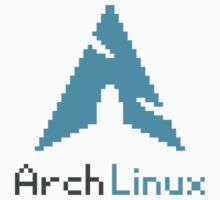 Pixelated ArchLinux by Dylen Rivera