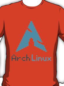 Pixelated ArchLinux T-Shirt
