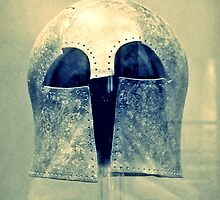Ancient Greek Helmet, Archaeological Museum, Chania, Crete, Greece by Susan  Wellington