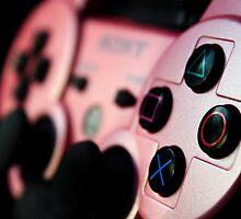 Pink Dualshock 3 by Cassie Gotto