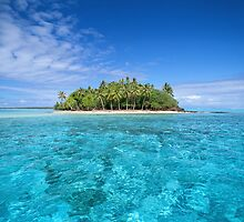 Motu Island, Bora Bora by printscapes