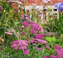 Summer Flowers by Antoinette B