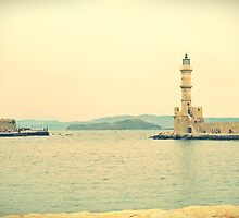 The lighthouse with Charm: visiting Crete, Greece by Susan Wellington