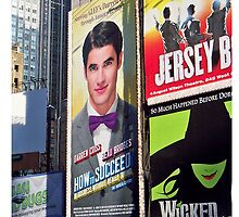 Darren Criss Times Square billboard (version 3) by LauraWoollin