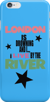 I live by the river (blue star edition) by TheGreatPapers