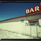 Las Vegas Bar Neon Sign in Kodachrome by Reinvention