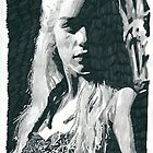 Emilia Clarke As Daenarys Targaryen From Game Of Thrones by chrisjh2210