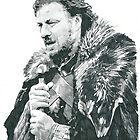 Sean Bean as Eddard 'Ned' Stark From Game Of Thrones by chrisjh2210