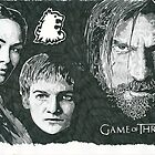 The Lannisters Game Of Thrones Sketch by chrisjh2210