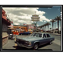 Las Vegas American Landscape in Kodachrome Photographic Print