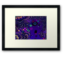My Mind is Going. I Can Feel It. - Psychedelic Visionary Art Framed Print