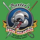 Baxter's pest control by coinbox tees