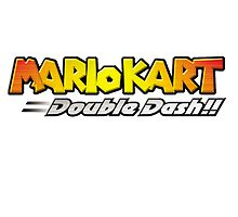 Mario Kart Double Dash Logo by natose